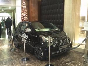 Aston Martin: Cygnet @ Harrods London