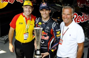 MyDrive | DHL Fastest Lap Trophy Winner Mark Webber (AUS)