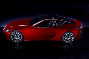 LEXUS : LF-LC Detroit Concept Revealed