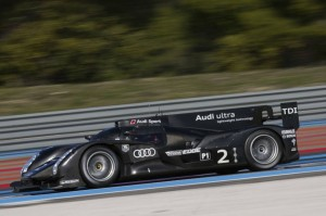 Audi Sport with Allan McNish begin shake down of 2012 LMP1 R18H