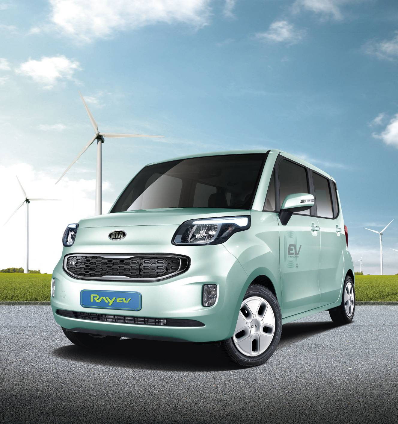 Kia Picanto X Line S 5 Door Hatchback: KIA Motors : Korea's First Electric Vehicle Unveiled