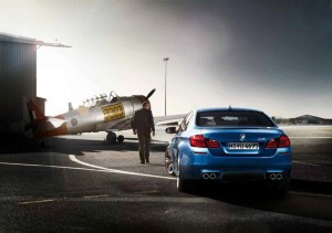 BMW: M5 About to Break Free