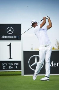 My Drive - Adam Scott and Mercedes-Benz join forces.