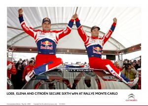 My Drive - LOEB, ELENA AND CITROËN WIN RALLYE MONTE-CARLO