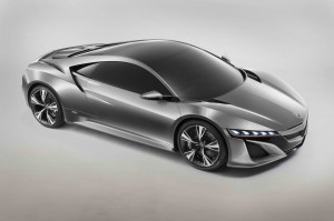 Honda NSX Concept Unveiled in Detroit