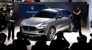 Maserati Kubang SUV Concept to be built in North America