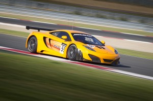 McLaren MP4-12C GT3 ready for 2012
