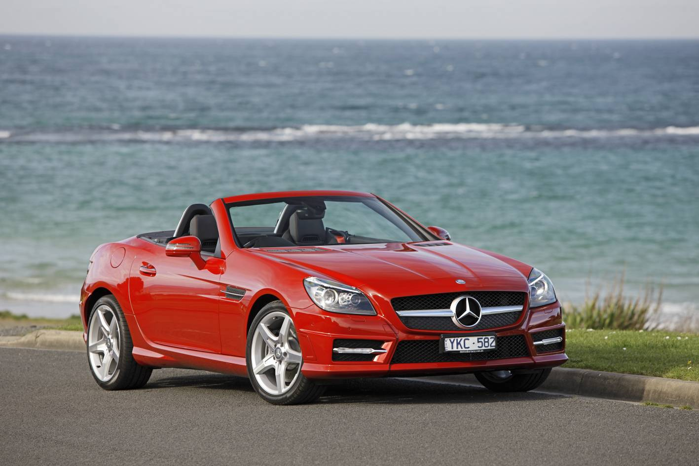 mercedes benz launches pricing for the slk250 slk 55 amg