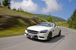 Mercedes-Benz launches pricing for the SLK250 & SLK 55 AMG