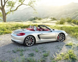 The new Porsche Boxster
