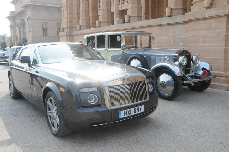 Rolls-Royce models from across the generations took part in a ...