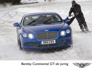 My Drive | Bentley Continental GT Snow Tow