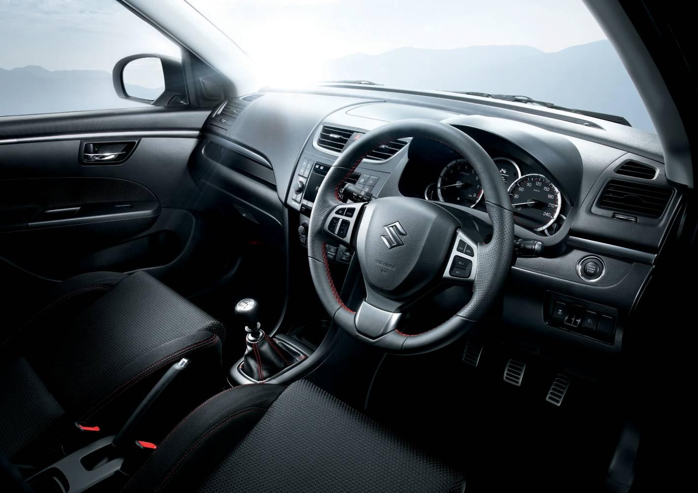 Image result for Suzuki Swift yellow inside