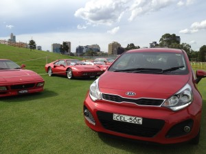 My Drive | KIA Rio SLS At The 2012 Australian F1 Grand Prix