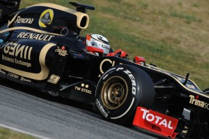 My Drive | Lotus F1 Testing in Barcelona