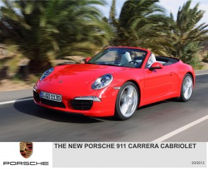 My Drive | The New Porsche 991 911 Cabriolet