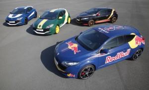 Mégane R.S. Showcases Formula 1 Livery