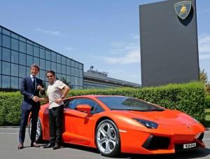 MyDrive | Lamborghini Aventador 1000th Customer