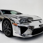 Lexus LFA CHROME Wrapped