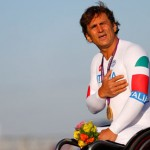 MyDrive | Alex Zanardi sings the Italian national anthem after winning gold at the Paralympic Games