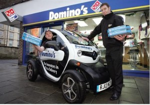 MyDrive | Renault Twizy Domino's Delivery Car