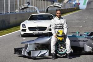 Mercedes AMG F1 Team Lewis Hamilton 1