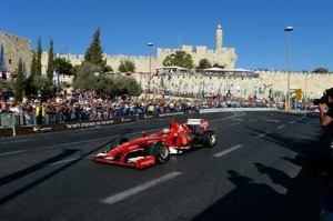 VIDEO: Ferrari Take To The Streets Of Jerusalem