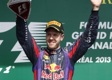Red Bull Vettel Takes Out Canadian F1GP