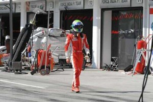 FERRARI SHOW A GAMUT OF EMOTIONS IN HUNGARY