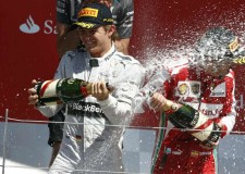 Mercedes AMG Rosberg Wins  2013 British Grand Prix