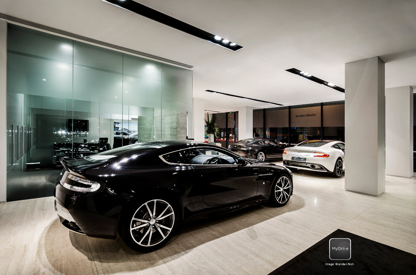 MyDrive Aston Martin Dealership Shoot MyDrive Media - Aston martin dealerships