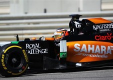 P12 and P13 For Force India F1 Team At Sochi