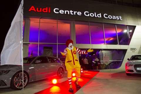 Red Boot Rally Audi Centre Gold Coast Ronald McDonald House - Mcdonald audi