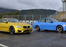 BMW M3 and M4 Line Up Together