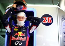 Last day laps by Kvyat for Red Bull at Jerez