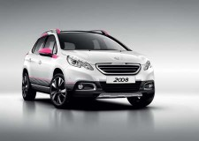 Splash of colour to the Peugeot 2008