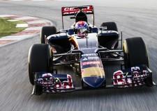 Verstappen Debuts in Toro Rosso STR10