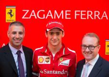Glitz Glamour and F1 Stars at Zagame Ferrari Re-launch