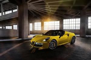 MyDrive | Alfa Romeo 4C Spider