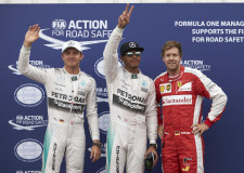 Hamilton takes first F1 pole at Monaco