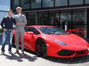 MyDrive | Lamborghini - Casey Stoner with Stephan Winklemann