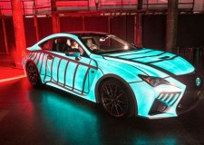 Lexus gives the RC F a heart beat!