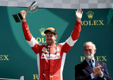Vettel for Ferrari shines at Silverstone F1