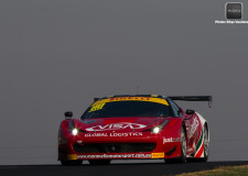 Massive crashes during round four of the Australian GT series