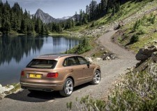 Bentley's fastest SUV in the world, the Bentayga