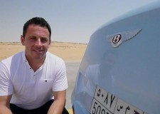 Bentley and the Saudi Arabia Desert Train Race