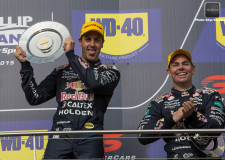 V8SC | Reynolds not happy but its smiles all around at Red Bull