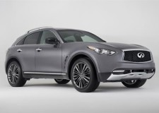 Infiniti QX70 gets the limelight for New York show