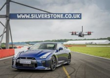 Nissan GT-R fights a racing drone?