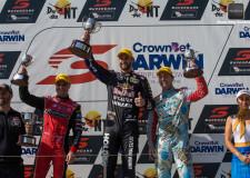 Red Bull's Van Gisbergen takes wins Race 13 in Darwin